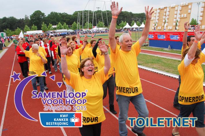 Toiletnet sponsort SamenLoop voor Hoop Zaanstad